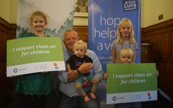 image from the clean air parents' network reception